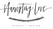 Harvesting Love Events logo